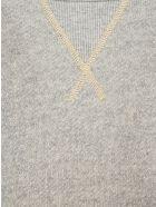 R13 Folded Shoulder Sweatshirt - GREY