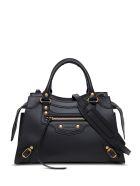 Balenciaga Neo Classic City Handbag In Black Leather - Black