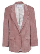Hebe Studio Pink Cordury Jacket - Pink