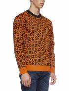 Kenzo Sweater - Orange fonce