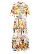 Alessandro Enriquez 'love Market' Cotton Dress - Multicolor