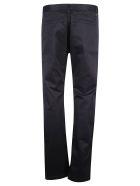 Saint Laurent Plain Trousers - Navy Raw