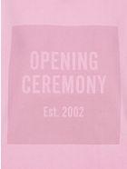Opening Ceremony Box Logo Hoodie - Rosa
