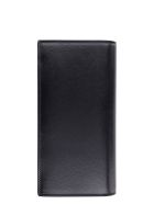 Saint Laurent Leather Continental Wallet - black
