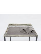 Once Milano Heavy Linen Placemats - Grey