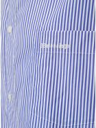 Balenciaga Cocoon Swing Poplin Shirt - Light blue