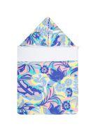 Emilio Pucci Multicolor Sleeping Bag For Babykids With Logo - Multicolor