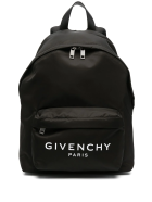 Givenchy Black Backpack With Logo Print