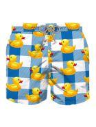 MC2 Saint Barth Big Ducky Boy Swim Trunks Vichy