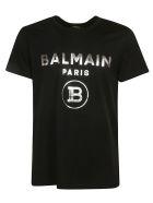Balmain Classic Logo T-shirt - Black