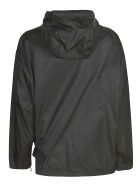 Prada Zipped Plain Raincoat - Black