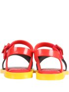 Melissa Multicolor Sandals For Kids - Red