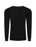 Molo Black T-shirt For Girl - Black