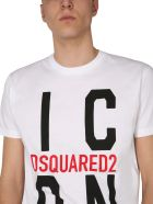 Dsquared2 T-shirt With Logo - Bianco