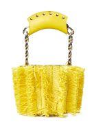 Sara Battaglia Mini Bucket Handbag - Yellow