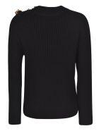 Patou Breton Knit Sweater - Black