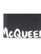 Alexander McQueen Passport Holder - Black