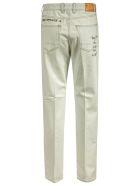 Golden Goose Brooke Boyfriend Side Small Stud Jeans - Faded Blue
