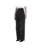 T by Alexander Wang Belted Paperbag Jeans - Grey Aged