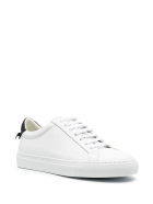 Givenchy Woman White And Black Urban Street Sneakers