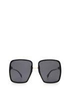 Fendi Fendi Ff 0402/s Black Sunglasses - Black