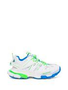 Balenciaga Track Mesh And Multicolor Nylon Sneakers - White