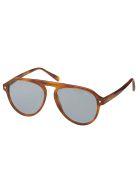 Brioni BR0085S Sunglasses - Havana Havana Blue