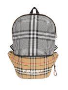 Burberry Vintage Check Nylon Backpack - Beige
