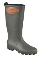 Tod's Logo Patched Rain Boots - Tono
