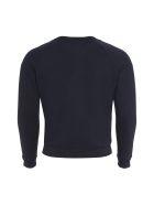 Maison Kitsuné Palais Royal Cotton Sweatshirt - blue