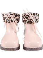 Melissa Pink Boots For Girl - Pink