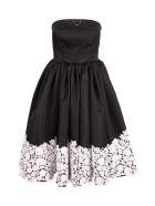 Prada Polyamide Dress - Black White