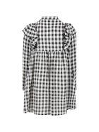 Philosophy di Lorenzo Serafini Multicolor Dress For Girl - Bianco