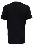 Givenchy Black Jersey T-shirt With Print - Black