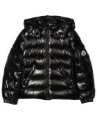 Moncler Black Quilted Down Jacket - Nero