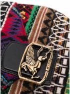 Etro Pegaso Multicolor Crossbody Bag In Wool Blend - Multicolor