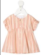 Chloé Vertical-stripe Pattern Dress - Rayure