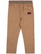Burberry Dilan Beige Cotton Pants - Beige