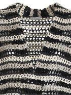Brunello Cucinelli Dazzling Stripe Cardigan - Rigato