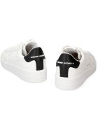 Golden Goose Pure Star Leather Low-top Sneakers - White Black