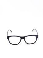 Alexander McQueen AM0262S Sunglasses - Black Black Grey