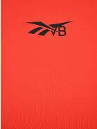 Reebok x Victoria Beckham Logo Low-impact Performance Bra - RED