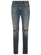 REPRESENT Underwork Denim Jeans - Light Indigo