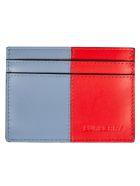 Burberry Sandon Card Holder - Blue/Red
