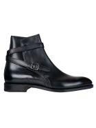John Lobb Abbot Ankle Boots - Black