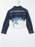 Givenchy Tie-dye Denim Jacket - Grigio chiaro