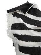 Marni Striped Top With Fringed Details - Multicolor