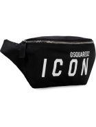 Dsquared2 Nylon Belt Bag - Nero
