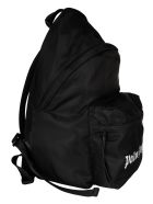 Palm Angels Essential Small Backpack - Black/White