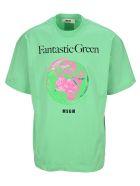 "MSGM ""fantastic Green"" T-shirt - GREEN"